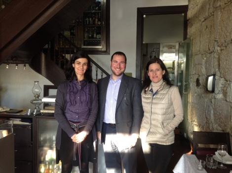 Tourisim MInisty staff and guides in Porto
