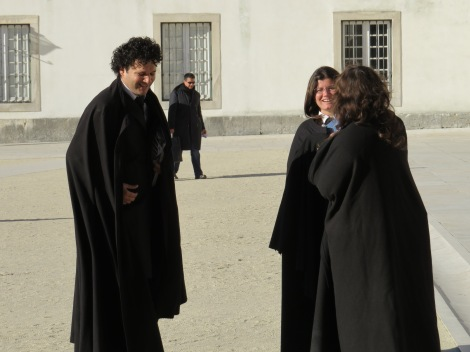 Traditional dress of Coimbra University students