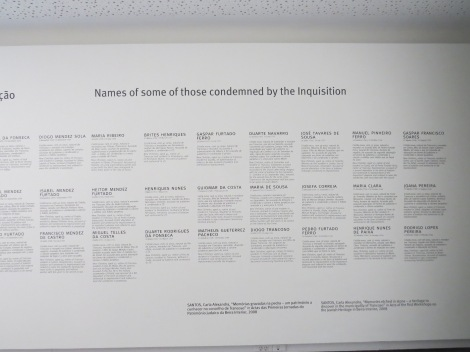 Inquisition memorial in Trancoso