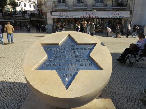 Memorial to Lisbon Massacre of New Christians in 1506