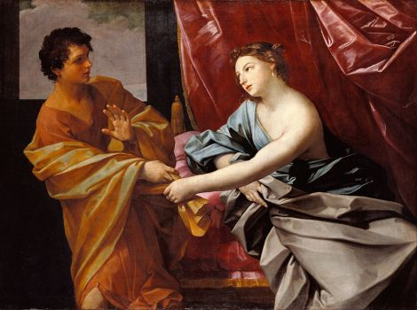 Joseph and Potiphar's Wife by Guido Reni, 1630