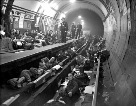 WWII SHELTERING ALDWYCH