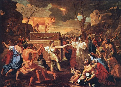 Golden-Calf-Painting