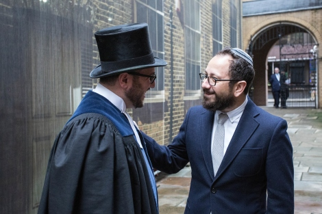 13.12.2015 Images from a double Induction Ceremony for the Spanish and Portuguese Jews Congregation, held at Bevis Marks Synagogue, London. (C) Blake Ezra Photography 2015.