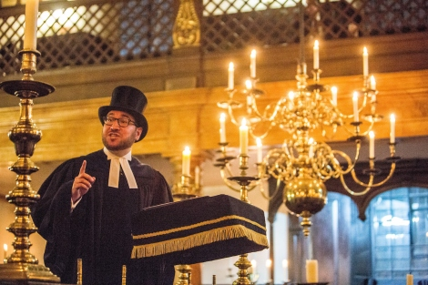 13.12.2015Images from a double Induction Ceremony for the Spanish and Portuguese Jews Congregation, held at Bevis Marks Synagogue, London. (C) Blake Ezra Photography 2015.